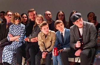 Неделя моды в Нью-Йорке: Victoria Beckham осень-зима 2017/2018