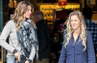 Уличный стиль знаменитости: Жизель Бундхен с сестрой в Лос-Анджелесе