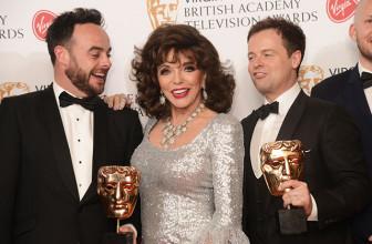 Джиллиан Андерсон, Бенедикт Камбербэтч, Джоан Коллинз и другие на премии BAFTA TV