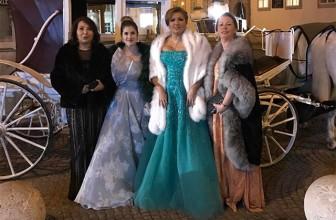 Анна Нетребко произвела фурор на Венском балу