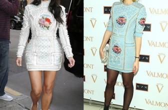 Битва платьев: Ким Кардашьян против Анжелики Тиманиной