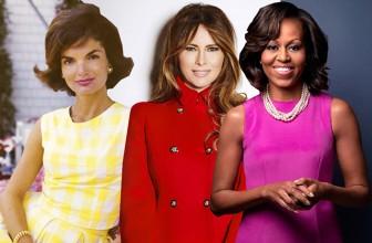 Мелания Трамп принимает модную эстафету: стиль первых леди США – от Жаклин Кеннеди до Мишель Обамы