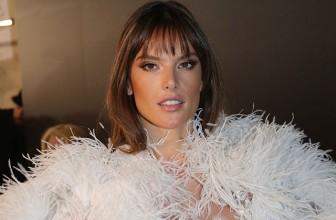 Неделя высокой моды в Париже: Алессандра Амбросио в роли невесты на шоу Ralph & Russo весна-лето 2017