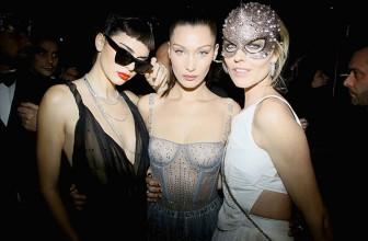 Кендалл Дженнер, Белла Хадид, Наталья Водянова и многие другие на бале-маскараде Christian Dior