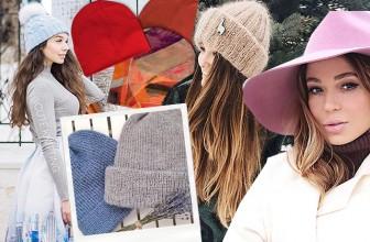 Мода в Instagram: шапки, шляпы, береты и другие головные уборы