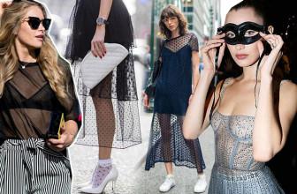 Тренд: как носить прозрачные вещи, если вы не Ким Кардашьян