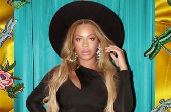 Беременная Бейонсе опубликовала серию снимков из примерочной магазина Gucci