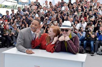 Канны-2017: Педро Альмодовар, Джессика Честейн и Уилл Смит на фотоколле жюри фестиваля