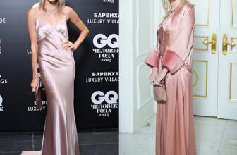 Битва платьев: Елена Перминова против Яны Расковаловой