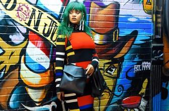 Рианна с зелеными волосами сфотографировалась на улице Нью-Йорка для журнала Paper
