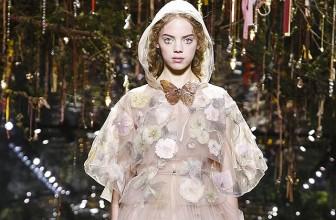 Неделя высокой моды в Париже: Dior Couture весна-лето 2017