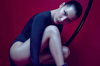 Белла Хадид снялась в рекламной кампании Giuseppe Zanotti