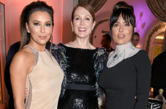 Ума Турман, Джулианна Мур, Ева Лонгория, Сальма Хайек и другие звезды на ужине Vanity Fair и HBO в Каннах