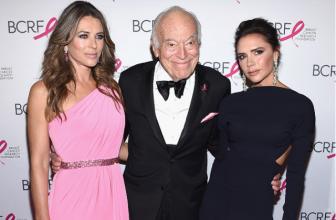 Виктория Бекхэм, Элизабет Херли и другие гости на Hot Pink Party 2017 в Нью-Йорке