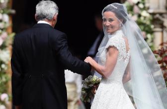 Пиппа Миддлтон вышла замуж в платье от британского дизайнера