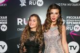 Анна Седокова впервые вышла в свет после родов и приехала на вручение премии RU.TV-2017