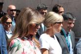 Мелания Трамп и Брижит Макрон прилетели в Италию в рамках саммита G7